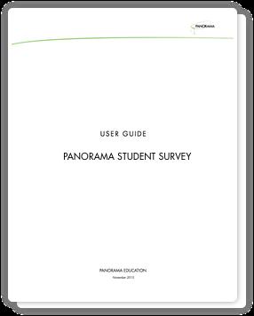 Panorama Student Survey
