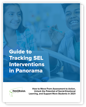 Guide to Tracking SEL Interventions in Panorama